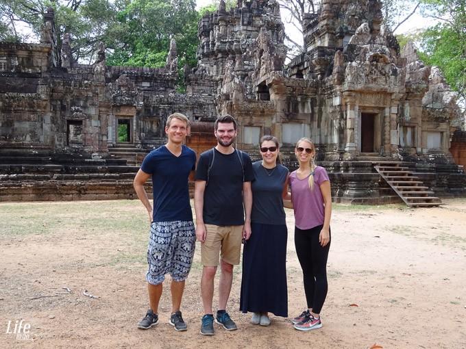 Mitreisende getroffen Angkor Wat - Life to go Community