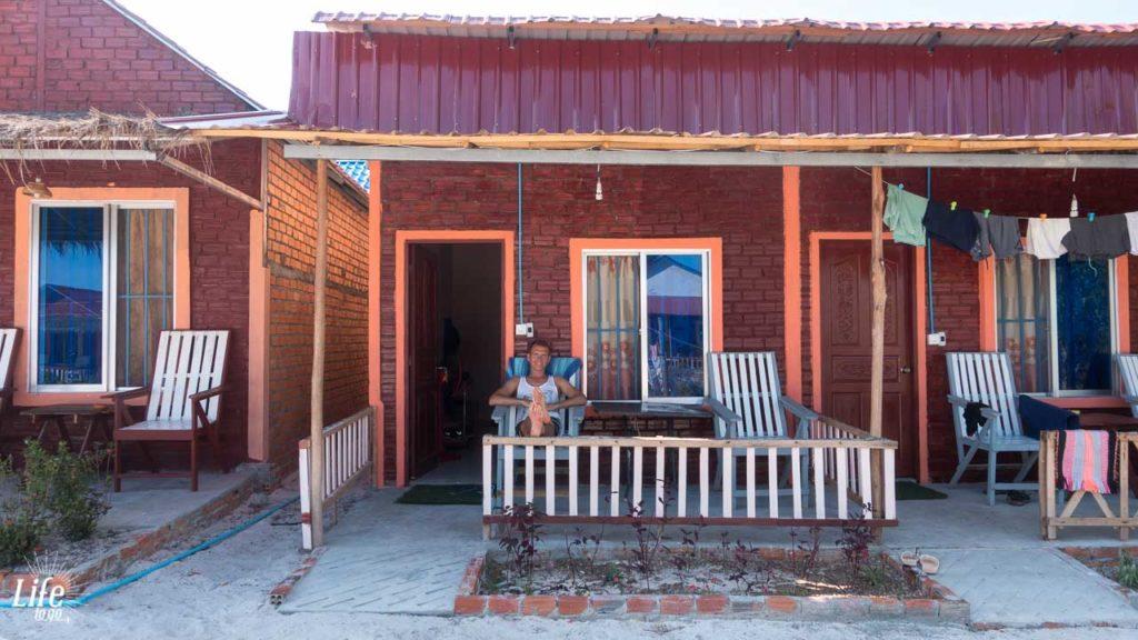 Otres Long Beach Bungalows 2 Unterkunft