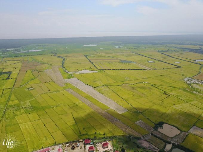 Siem Reap Tour zum Tonle Sap See Drohne Tour Sieam Reap Umland