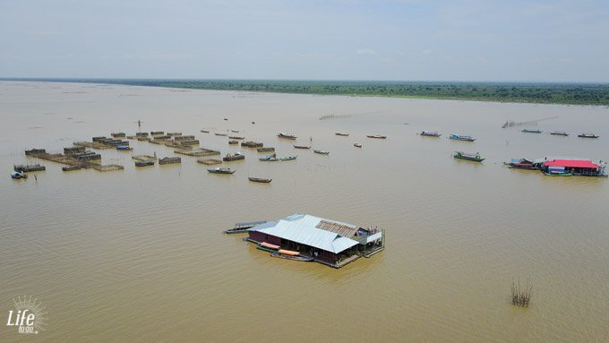Tonle Sap See Bild DJI Mavic Pro Drohne