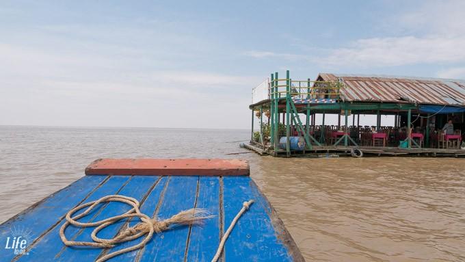 Tonle Sap See Hausboot