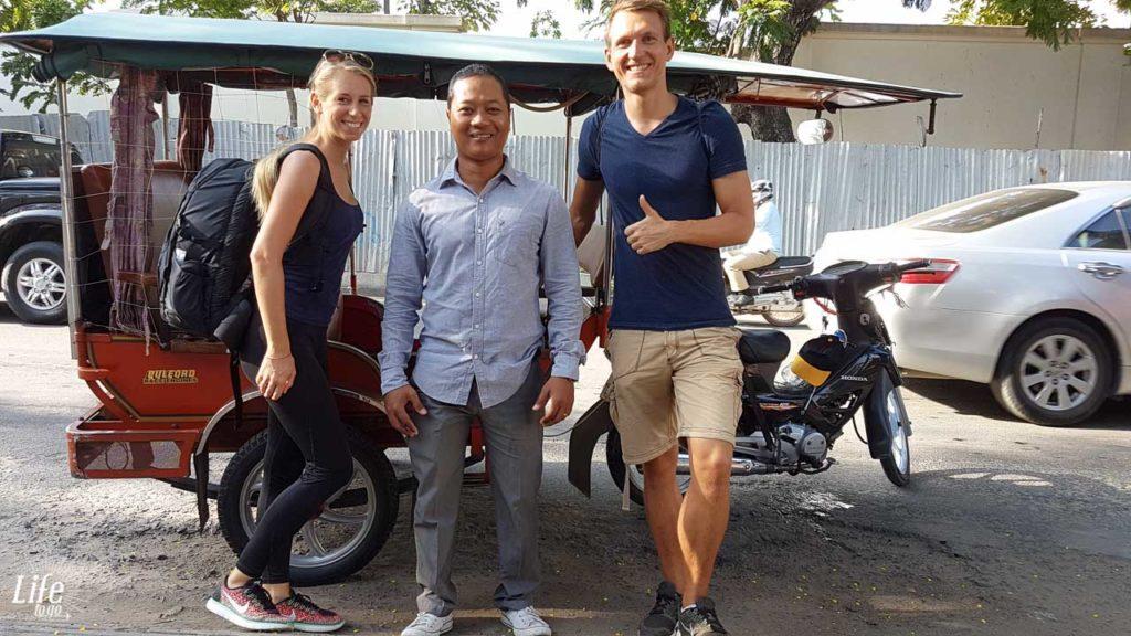 Guter TukTuk Fahrer in Phnom Penh