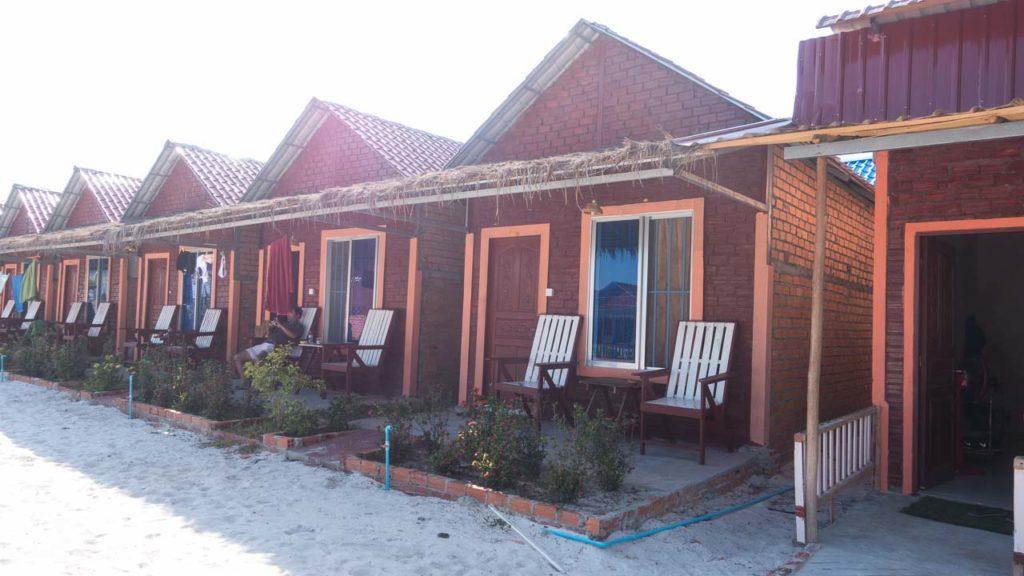 Otres Long Beach Bungalows 2 Unterkunft Häuser