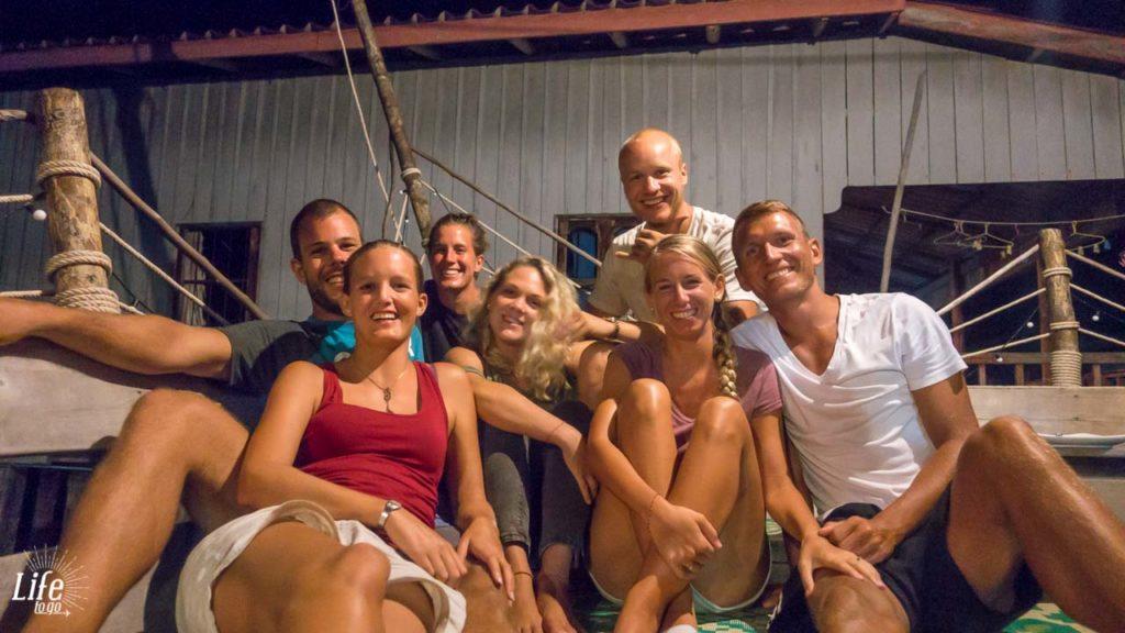 nette Menschen und neue Freunde auf Koh Rong Samloem