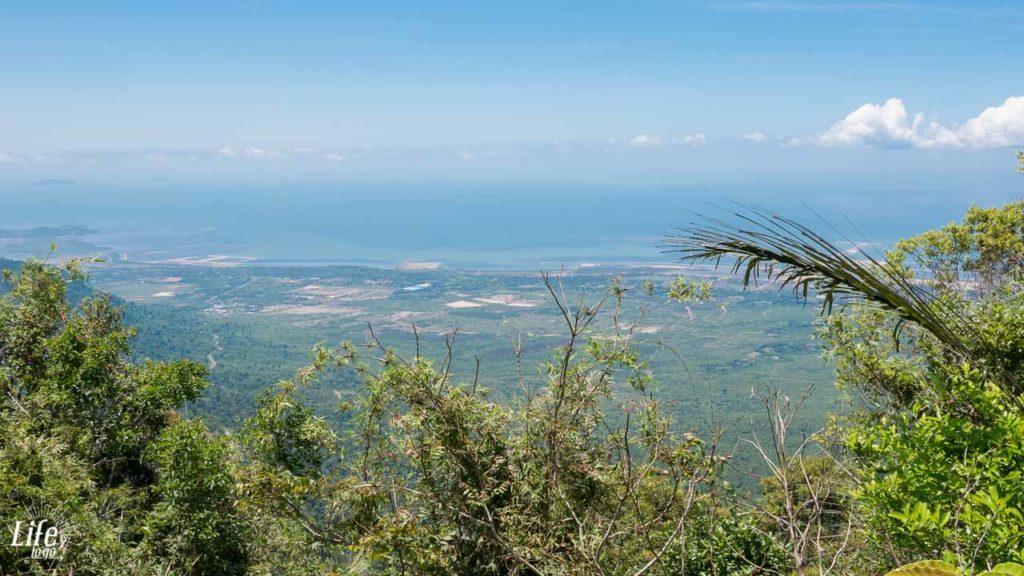Bokor Nationalpark Aussicht