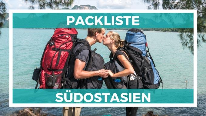 Südostasien Packliste 2020 • Was du wirklich auf deiner