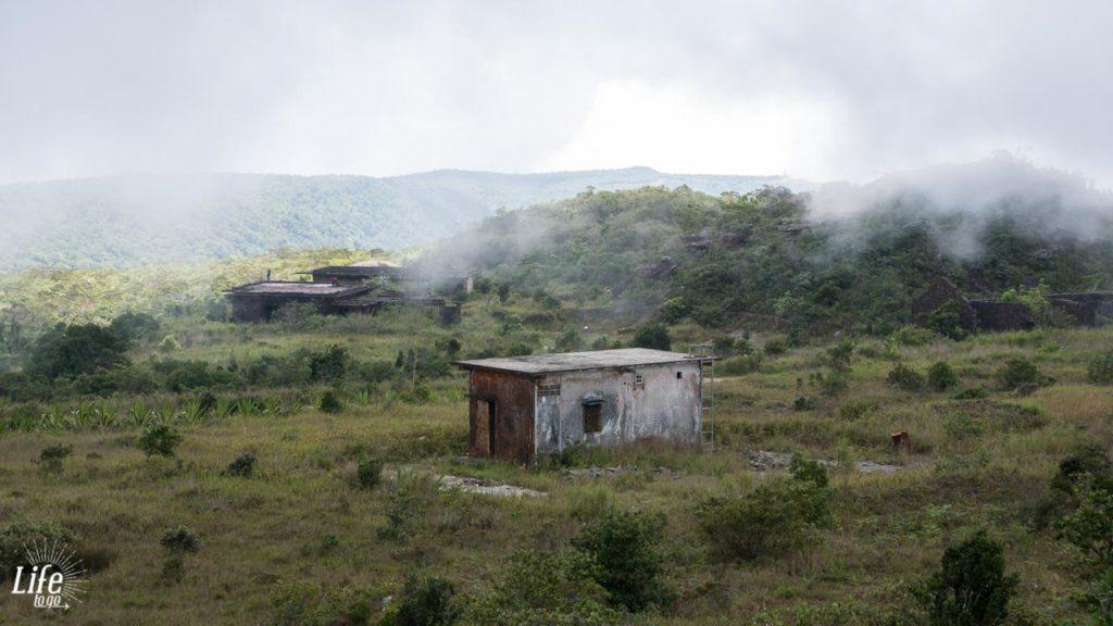 Wetterumschwung auf dem Bokor Hill