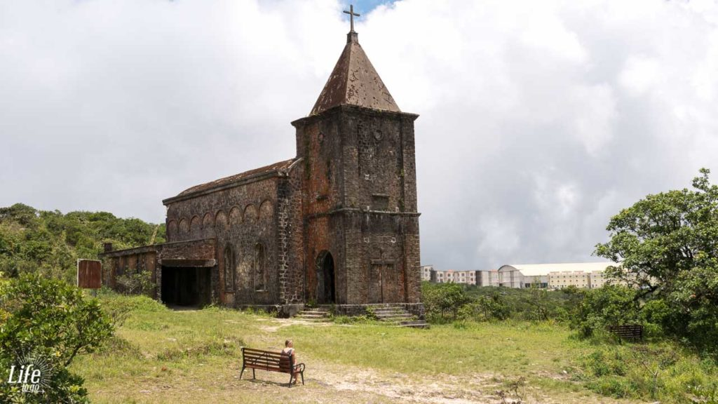 Bokor National Park old Catholic Church