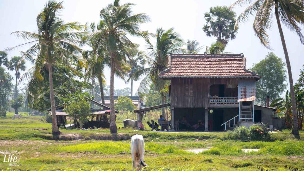 Leben der Locals in Kampot