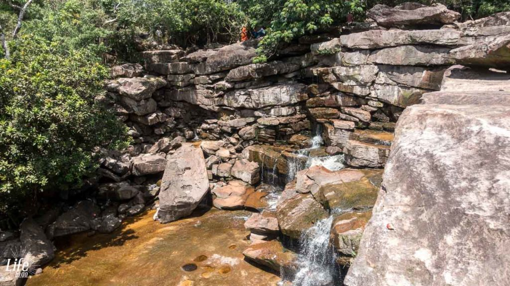Popokvil Wasserfall Bokor Nationalpark Kampot