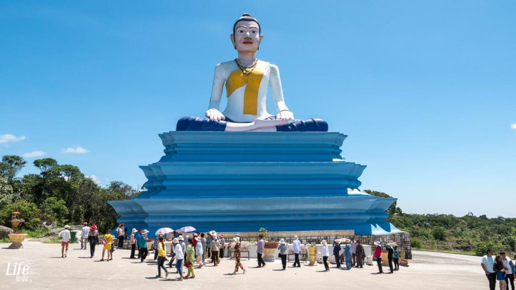 lok yeay mao monument Bokor Nationalpark