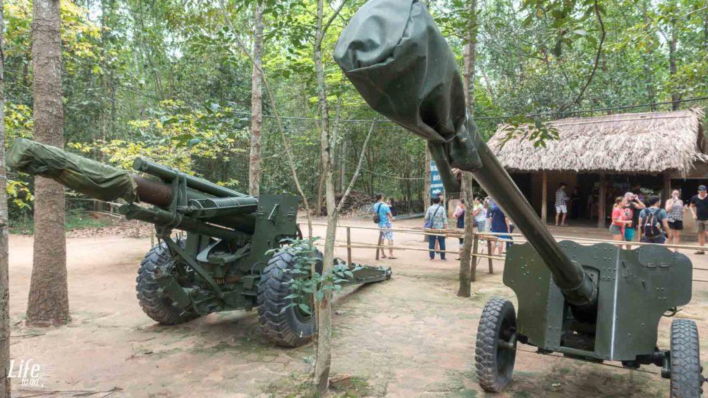 Cu Chi Tunnel Ho Chi Minh Stadt Vietnam Reisetipps