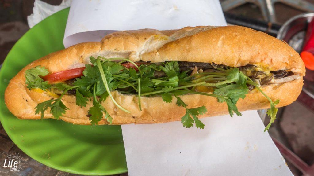 Banh Mi in Vietnam - Kosten uns Ausgaben auf Vietnam Reise - Essen und Trinken