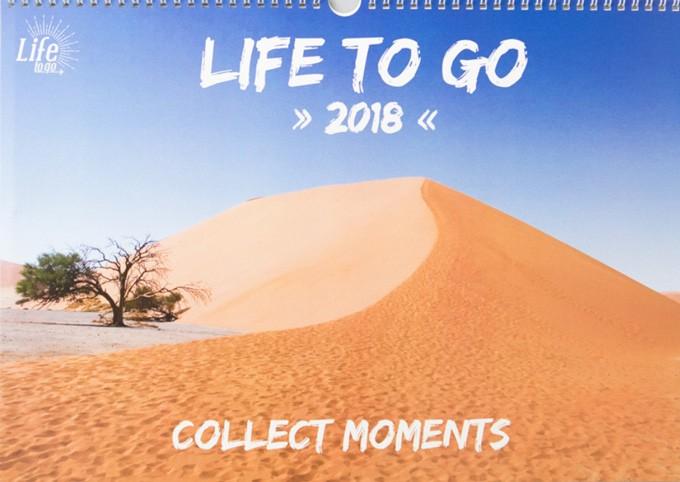 Life to go Jahreskalender 2018 - Deckblatt