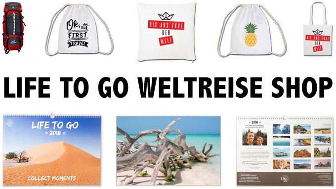 Life to go Weltreise Shop