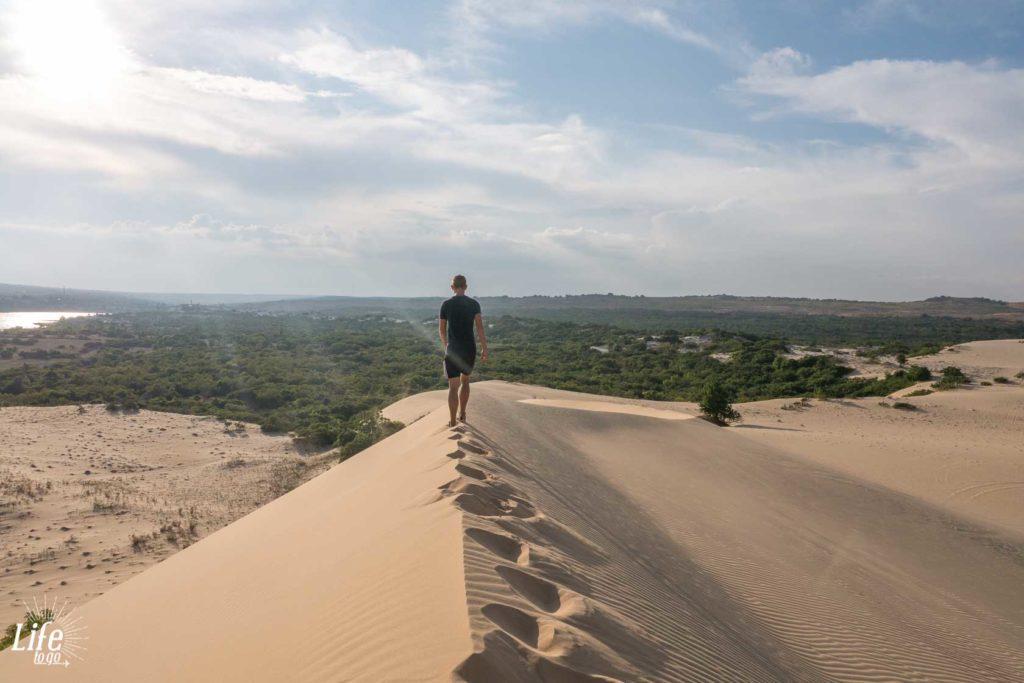 Weiße Sanddünen Mui Ne Vietnam Reisetipps
