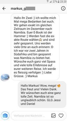 Feedback zum Life to go Namibia Reiseführer eBook