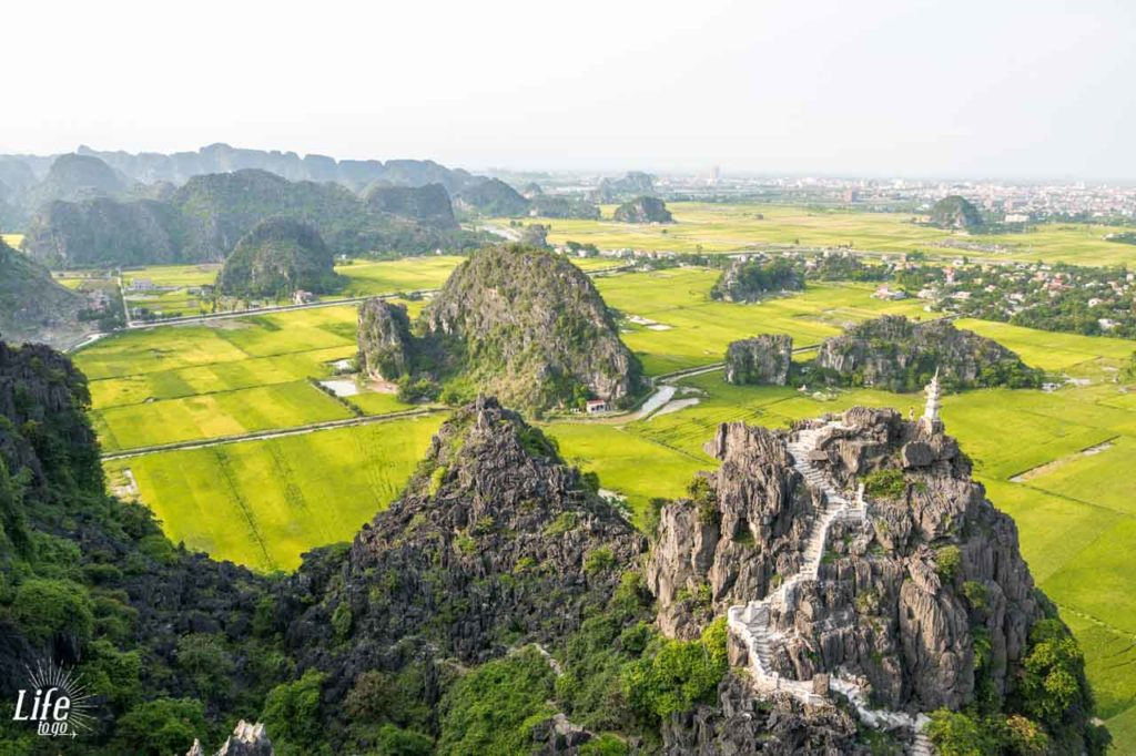 Hang Mua Aussicht Ninh Binh Vietnam Reisetipps