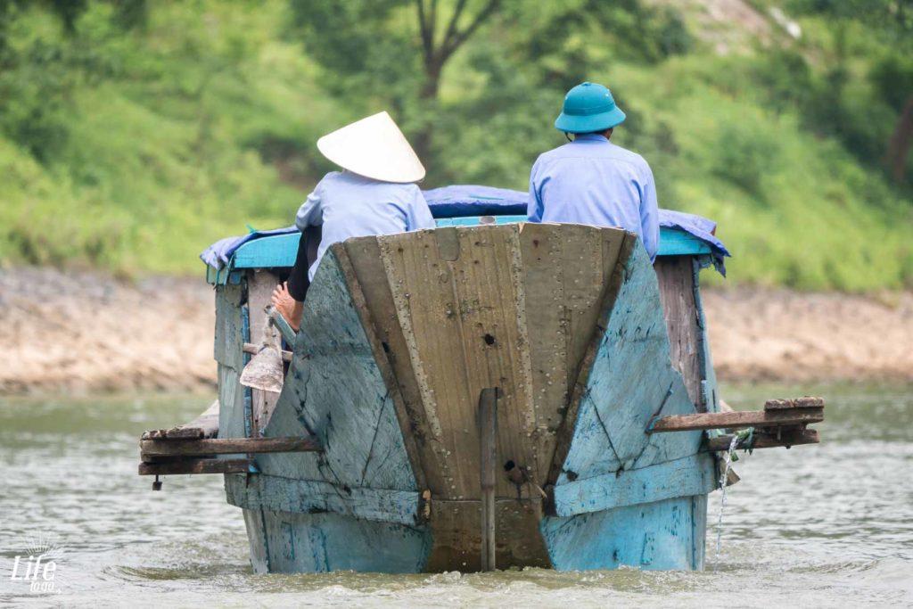 Phong Nha Boot auf Vietnam Rundreise