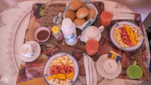 Casa Rolando Frühstück - Vegan - Havanna Kuba