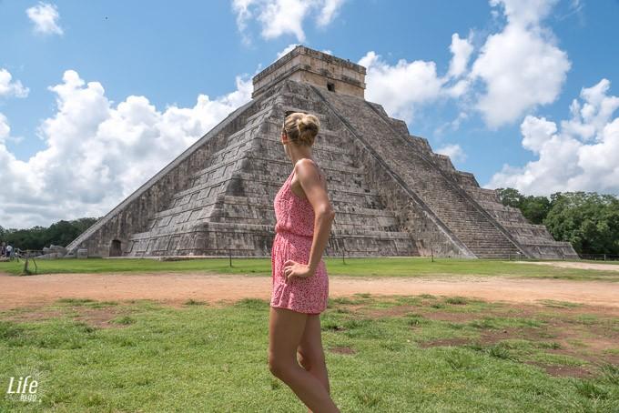 Pyramide Chichen Itza Ruine