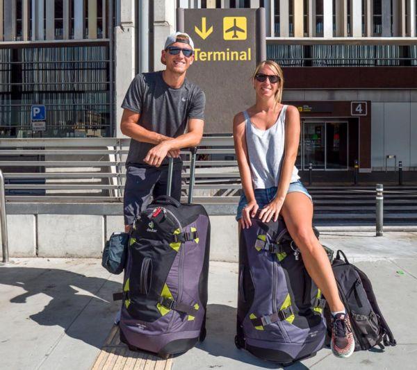 Weltreise Rucksack-Koffer Deuter Helion 80 auf unserer Weltreise Packliste