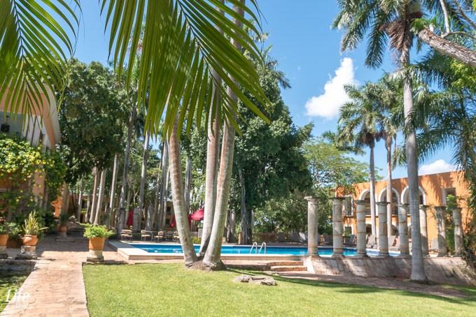 Gartenanlage Hacienda Uxmal Hotel