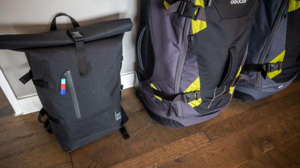 Got Bag Rolltop Weltreise Rucksack