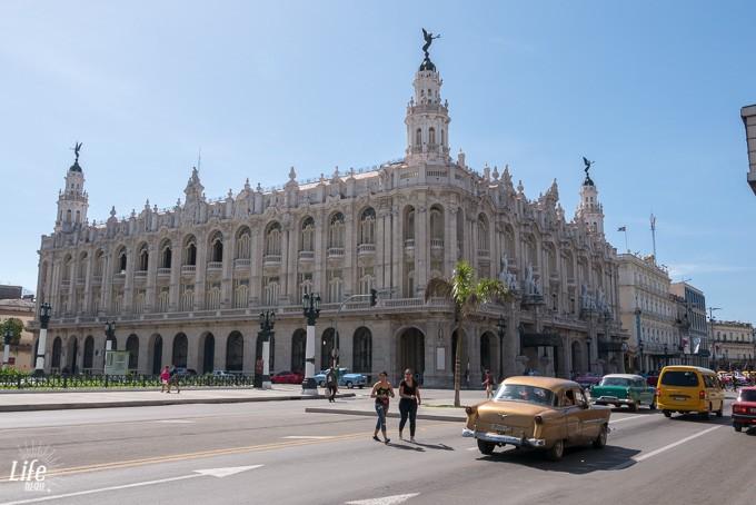 Gran Teatro Havanna auf Kuba