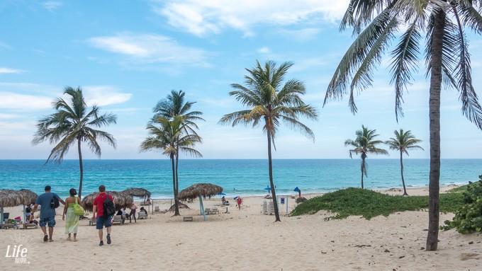 Kuba Havanna Strand - Ausflug mit der Sprachschule