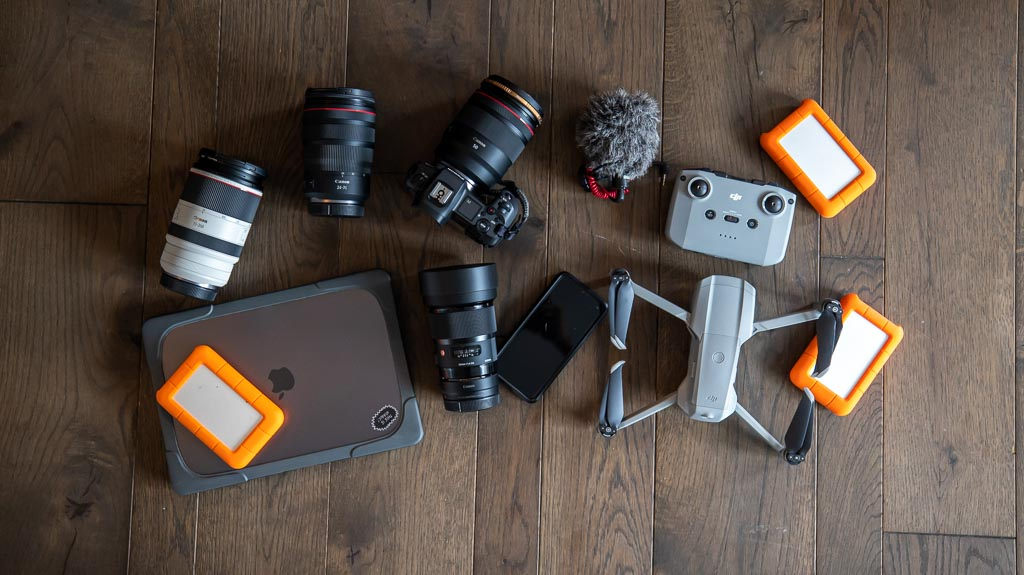 Kamera Weltreise Packliste