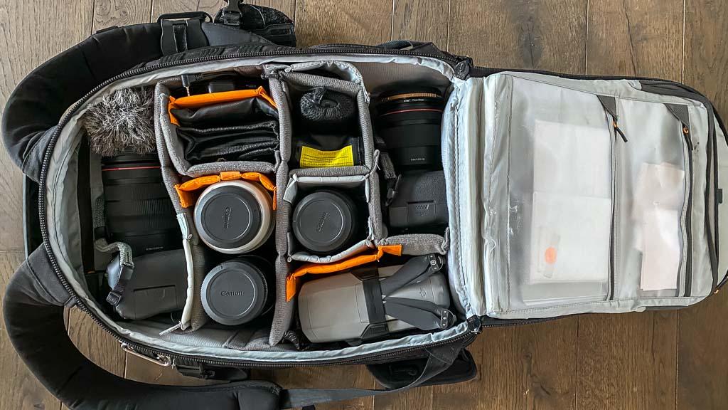 Lowepro Pro Tactic AW450 II Kamera Rucksack Weltreise