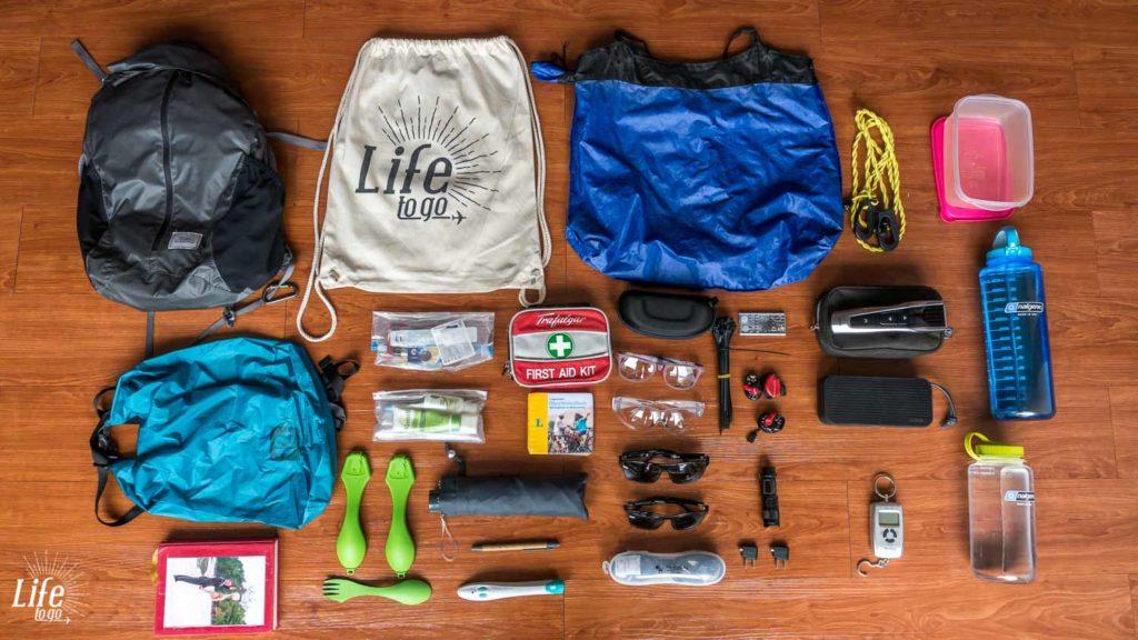 Praktische Dinge auf der Weltreise Packliste