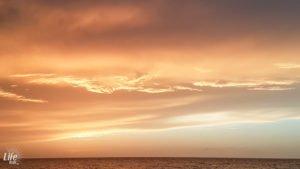 Sonnenuntergang auf Kuba in Varadero
