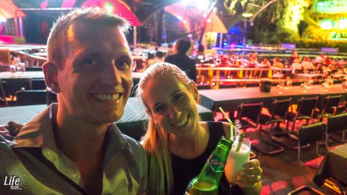 Sprachcaffe Ausflug Tropicana Show Havanna Kuba