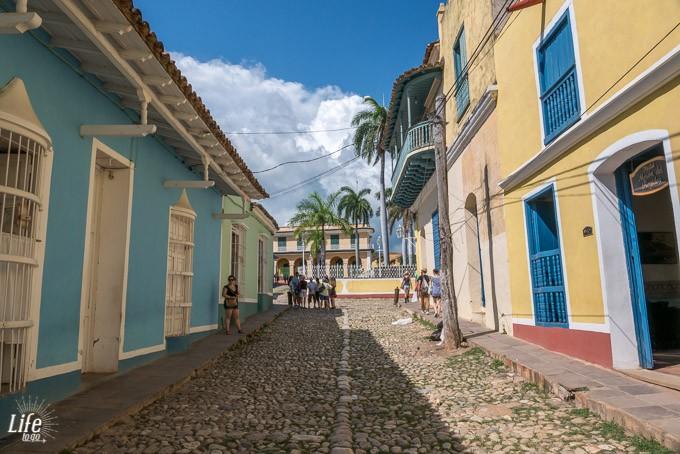 Idyllische Gasse in Trinidad auf Kuba