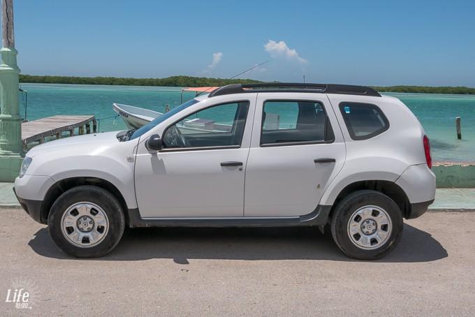 Renault Duster Mietwagen Mexiko