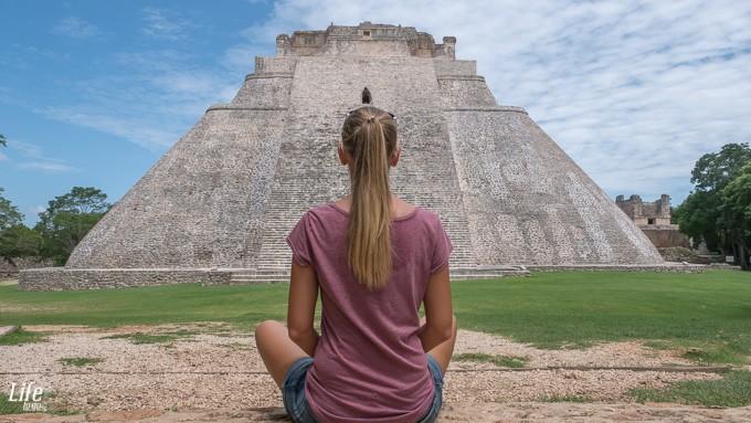 Uxmal Ruinen Mexiko