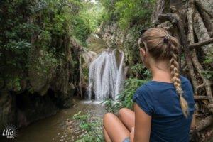 Wasserfall El Cubano Nationalpark