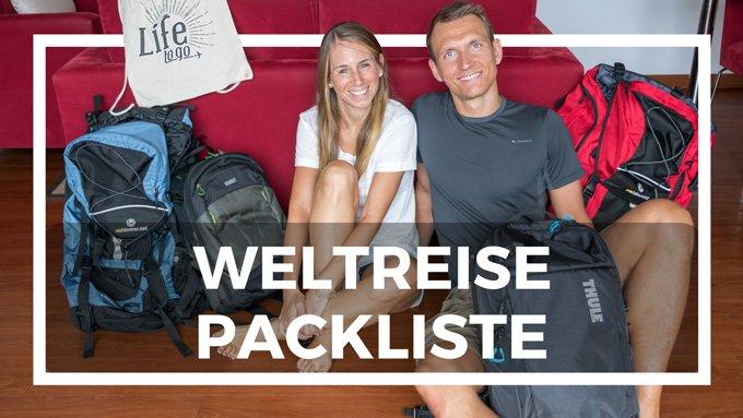 die beste Weltreise Packliste