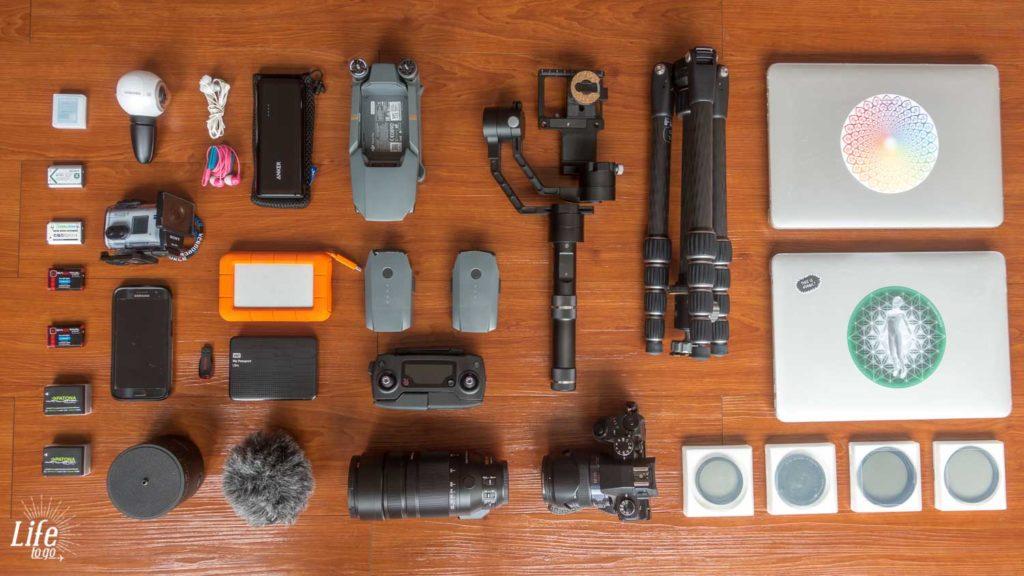 Weltreise Packliste Technik und Elektronik