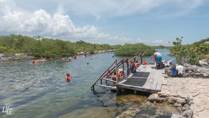 Yal-Ku Lagune Mexiko