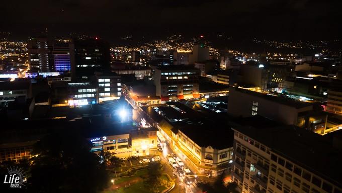 Abendliche Aussicht Holiday Inn Aurola San Jose Costa Rica