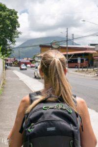 Ausblick auf Arenal Vulkan La Fortuna Costa Rica