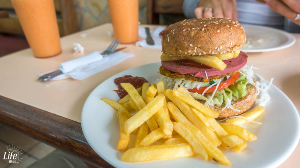 Vishnu Vegetarian Restaurant San Jose Costa Rica