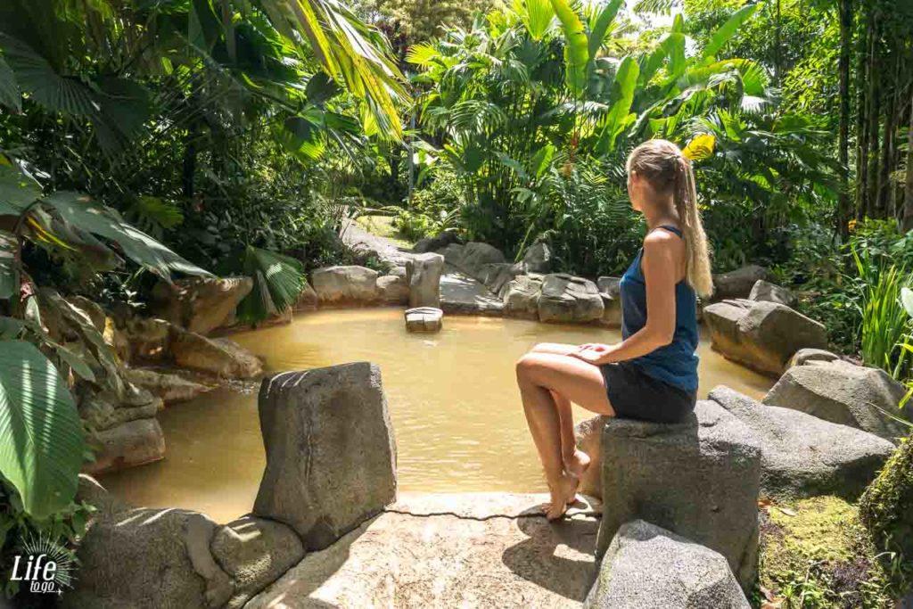 Die heißen Quellen im Arenal Paraiso Resort