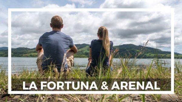 Heiße Quellen La Fortuna Arenal und Arenal See