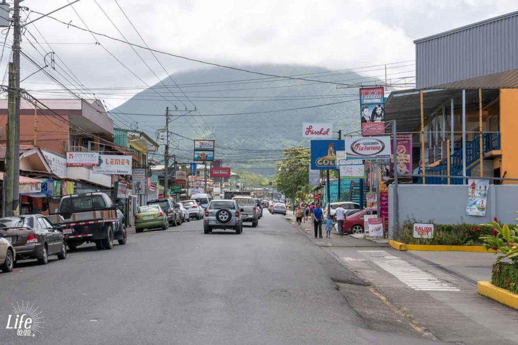 La Fortuna und Aussicht Arenal Vulkan