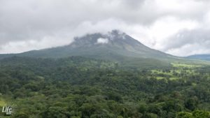 Zimmerausblick Arenal Vulkan Hotel Arenal Paraiso Resort & Spa Costa Rica