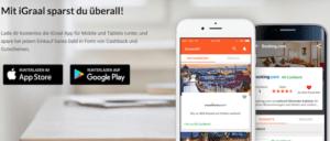 iGraal App für Smartphone und Tablet